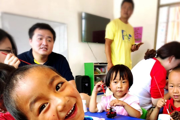 A local and back-into-truth preschool education class